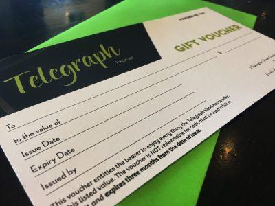 Telegraph Hotel Gift Voucher