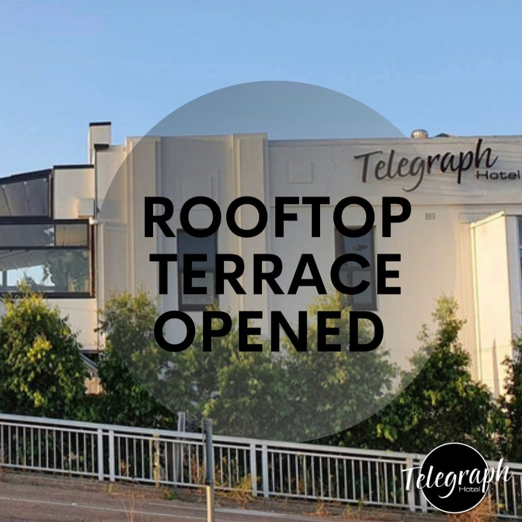 rooftop terrace opened